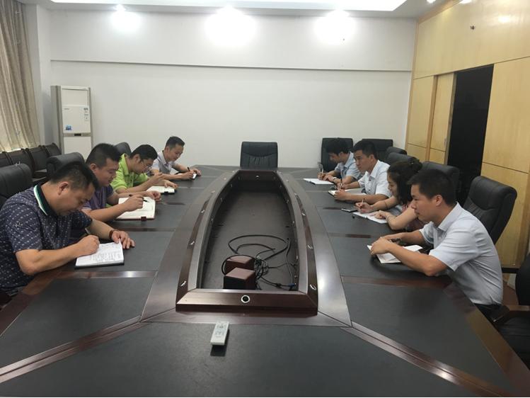 集团公司组织全体党员开展向李保国同志先进事迹学习
