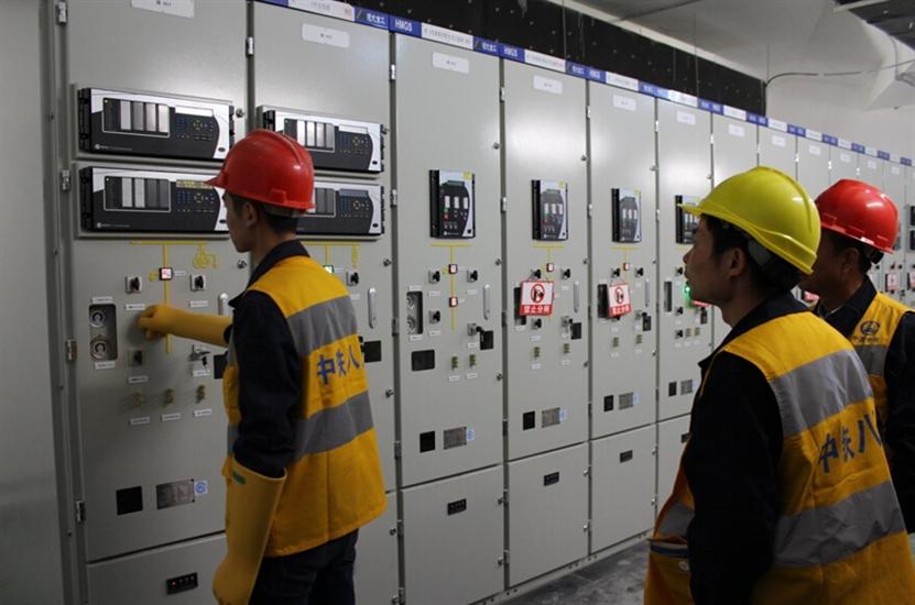 南宁地铁1号线供电系统东段环网顺利电通